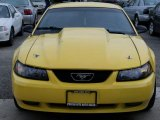 1999 Chrome Yellow Ford Mustang GT Coupe #48770294