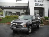 2005 Dark Blue Metallic Chevrolet Silverado 1500 LS Regular Cab 4x4 #48770298