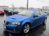 2009 Pontiac G8 Stryker Blue Metallic