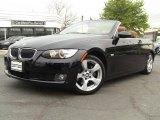 2008 Jet Black BMW 3 Series 328i Convertible #48770183