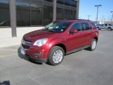 2010 Cardinal Red Metallic Chevrolet Equinox LT AWD #48770548