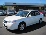 2007 White Chevrolet Malibu LT Sedan #48770471