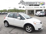 2007 Pearl White Suzuki SX4 Convenience AWD #48770480