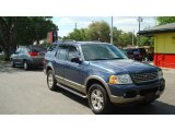 2003 Medium Wedgewood Blue Metallic Ford Explorer Eddie Bauer #48814750