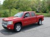 2011 Victory Red Chevrolet Silverado 1500 LT Crew Cab 4x4 #48814921