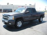 2011 Taupe Gray Metallic Chevrolet Silverado 1500 LT Extended Cab 4x4 #48814767