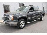 2005 Dark Gray Metallic Chevrolet Silverado 1500 Z71 Extended Cab 4x4 #48814458