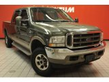 2003 Estate Green Metallic Ford F250 Super Duty King Ranch Crew Cab 4x4 #48814783