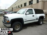 2002 Summit White Chevrolet Silverado 1500 LS Regular Cab 4x4 #48814333