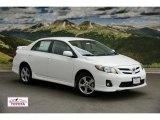2011 Super White Toyota Corolla S #48814353