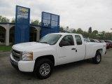 2011 Summit White Chevrolet Silverado 1500 LS Extended Cab 4x4 #48814502