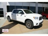 2011 Super White Toyota Tundra TRD Rock Warrior CrewMax 4x4 #48814355