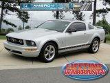 2006 Satin Silver Metallic Ford Mustang V6 Premium Coupe #48814962