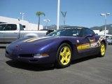 1998 Chevrolet Corvette Radar Blue Metallic