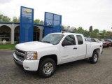 2011 Summit White Chevrolet Silverado 1500 LT Extended Cab 4x4 #48814505