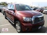 2008 Salsa Red Pearl Toyota Tundra Limited CrewMax 4x4 #48814363