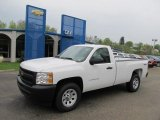 2011 Summit White Chevrolet Silverado 1500 Regular Cab 4x4 #48814508