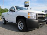 2011 Summit White Chevrolet Silverado 1500 Regular Cab #48814641