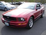 2005 Redfire Metallic Ford Mustang V6 Premium Coupe #48814387