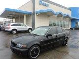 2004 Jet Black BMW 3 Series 330xi Sedan #48814983