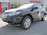 2011 Super Black Nissan Murano SL #48814654