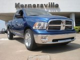 2011 Deep Water Blue Pearl Dodge Ram 1500 Big Horn Quad Cab 4x4 #48814836