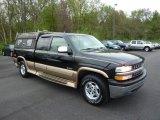 1999 Onyx Black Chevrolet Silverado 1500 Z71 Extended Cab 4x4 #48814560