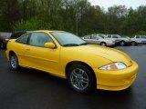 2002 Yellow Chevrolet Cavalier LS Sport Coupe #48814561