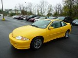 2002 Chevrolet Cavalier Yellow