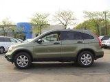 2007 Green Tea Metallic Honda CR-V EX 4WD #48815060