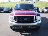 2004 Dark Toreador Red Metallic Ford F250 Super Duty Lariat SuperCab #48814716