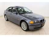 2001 Steel Blue Metallic BMW 3 Series 325i Sedan #48814882