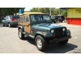 1994 Jeep Wrangler Hunter Green Metallic