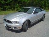 2011 Ingot Silver Metallic Ford Mustang V6 Premium Convertible #48867025