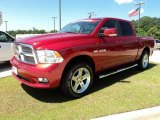 2009 Inferno Red Crystal Pearl Dodge Ram 1500 Sport Crew Cab 4x4 #48866841