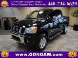 2007 Galaxy Black Nissan Titan LE Crew Cab 4x4 #48866472
