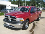 2010 Inferno Red Crystal Pearl Dodge Ram 1500 ST Quad Cab #48866855