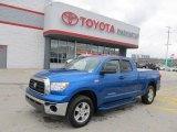 2007 Blue Streak Metallic Toyota Tundra SR5 Double Cab 4x4 #48866667