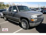 2000 Light Pewter Metallic Chevrolet Silverado 1500 LT Extended Cab 4x4 #48866513
