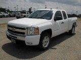 2011 Summit White Chevrolet Silverado 1500 LT Extended Cab 4x4 #48867082