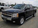 2011 Black Chevrolet Silverado 1500 LT Crew Cab 4x4 #48867083