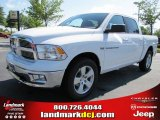 2011 Bright White Dodge Ram 1500 Big Horn Crew Cab 4x4 #48866733