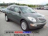 2011 Silver Green Metallic Buick Enclave CXL #48866888