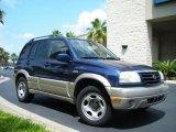 2002 Suzuki Grand Vitara Catseye Blue Metallic