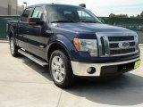 2011 Dark Blue Pearl Metallic Ford F150 Lariat SuperCrew #48866767