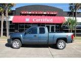 2009 Blue Granite Metallic Chevrolet Silverado 1500 LT Extended Cab #48866580