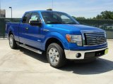 2011 Blue Flame Metallic Ford F150 XLT SuperCab #48866771