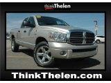 2008 Bright Silver Metallic Dodge Ram 1500 Laramie Quad Cab 4x4 #48867153