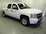 2011 Summit White Chevrolet Silverado 1500 LT Crew Cab #48866939