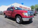 2010 Vermillion Red Ford F150 XLT SuperCrew #48866957